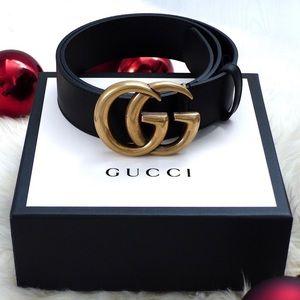īNew Gucci Belt Áùthéntíć Double G Marmot WITH BOX